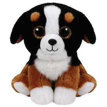 Ty Beanie Babies Roscoe, juguetes de animales de peluche para perro, regalo de muñeca de 15cm