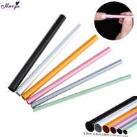 Monja 6Pcs/Set Nail Art Acrylic C Curve Shaping Stick French Crystal UV Gel Tip Builder Form Guide Mold Pro Manicure Tool