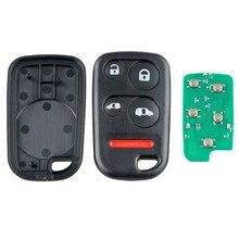 Автомобильный Смарт дистанционные брелки для ключей 4+ 1 кнопочный ключ автомобиля брелок подходит для 2001 2002 2003 2004 Honda Odyssey 307,9 МГц Oucg8D-440H-A