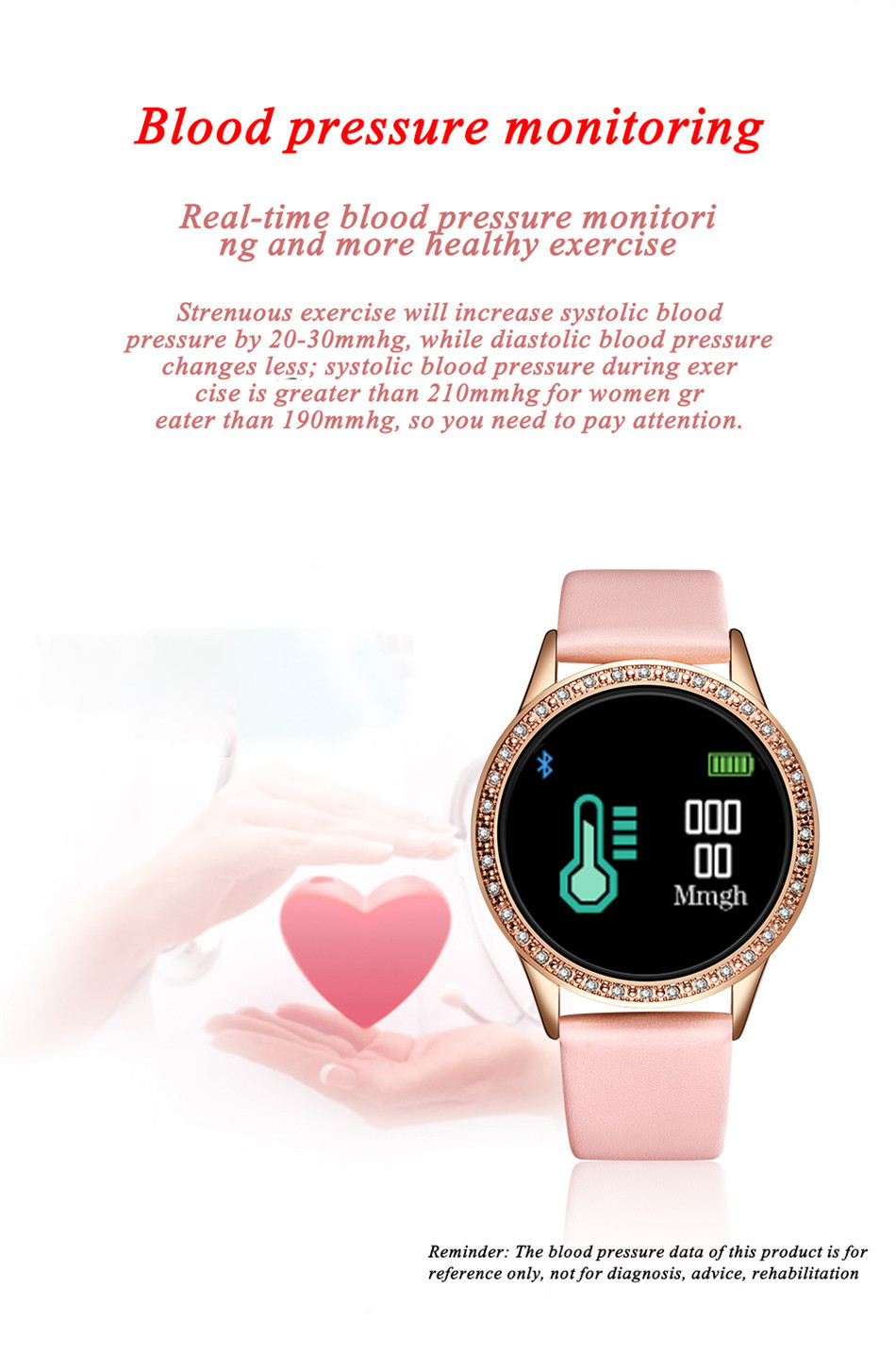 H7faf9664b9734c3089b375dbd28a97545 LIGE 2020 New Smart Watch Women Men Heart Rate Blood Pressure Sport Multi-function Watch fitness tracker Fashion smartwatch+Box