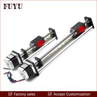 Free shipping 450mm stroke Cnc 40kg load low price linear guide rail for one axis drive