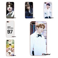 Transparante Soft Shell Covers jeon jungkook Korea Kpop Voor Samsung Galaxy S3 S4 S5 Mini S6 S7 Rand S8 S9 s10 Plus Note 3 4 5 8 9(China)
