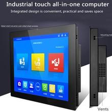 17% 22 19 дюймов Встроенные отрасли настольный компьютер мини компьютер Core i3-3217U AIO ПК с сенсорным экраном windows 10 pro WiFi RS232 com