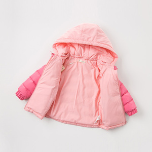 Image 5 - DB12011 dave bella winter baby down coat girls boys solid hooded outerwear children 90% white duck down padded kids jacket