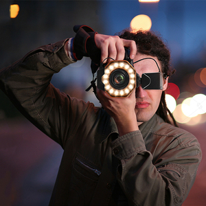 Image 5 - SHOOT Led Macro Ring Flash Light for Nikon D5300 D3400 D7200 D750 D3100 Canon 1300D 6D 5D Olympus e420 Pentax K5 K50 Dslr Camera