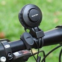 GUB hornUSB Som do Alarme Da Bicicleta Guiador Eletrônico Recarregável À Prova D' Água Alarme de Segurança Equitação MTB Estrada Bicicleta Sino Acessórios