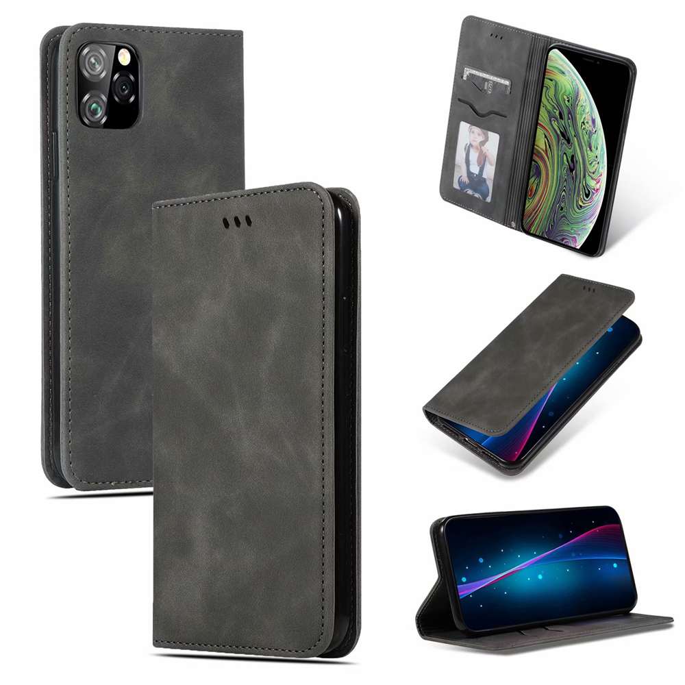 Luxury Leather Flip Wallet Case for iPhone 11/11 Pro/11 Pro Max 5