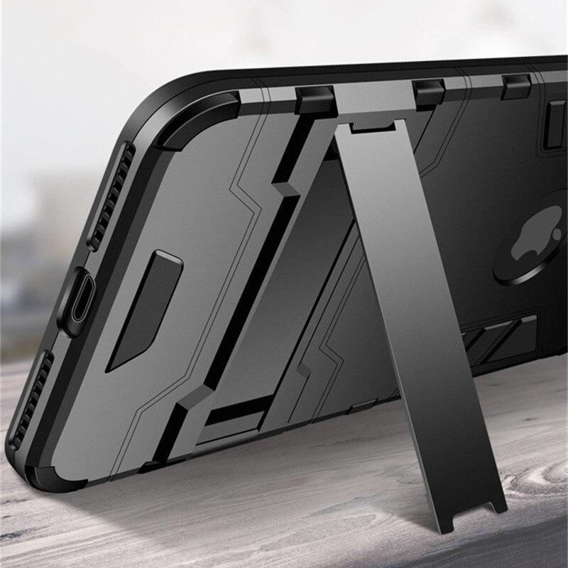 כיסוי אחורי לטלפון עם שריון מוקשח עבור דגמי IPhone