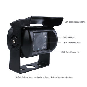 "Image 5 - لتقوم بها بنفسك 720P AHD 4CH 256GB سيارة شاحنة المحمول AHD DVR مسجل فيديو نظام كاميرا CCTV الرؤية الخلفية 7 ""رصد شحن مجاني"