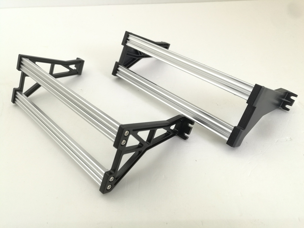 Frame Metal Side Bumper Set For 1/14 Rc Truck Tamiya Volvo FH16 56360 6X4 Tractor