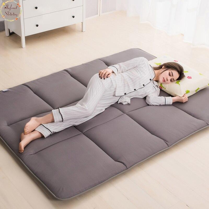 Infantile brillant 4cm épais Tatami tapis matelas dortoirs étage pyjamas sieste tapis chambre tapis plus de Styles et de couleurs