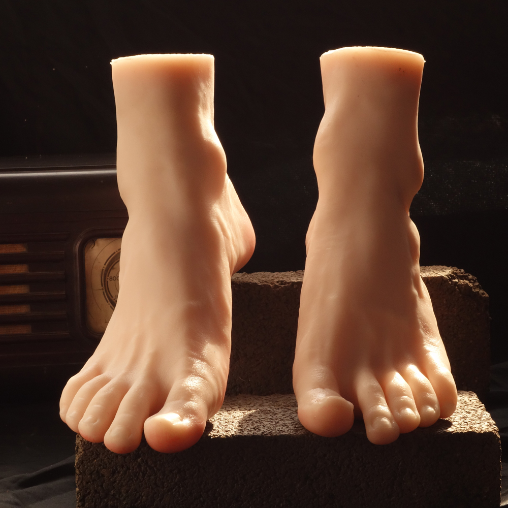 Male Mannequin Foot Mannequin Legs Feet For Sox//Sock Display