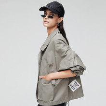 La MaxPa New Vintage Cardigan Windcheaters Instagram Fashion Bow Streetwear Elegant Short Casual Coats For Women Clothing 2019