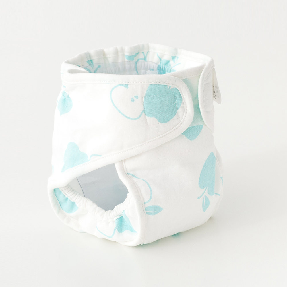 Gauze Print Waterproof Diaper Pants Baby Nappies Diaper Reusable Washable Cloth Diapers Nappy Cover Newborn Baby Traning Panties