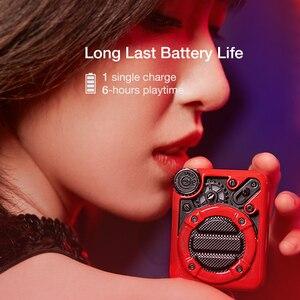 Image 4 - Divoom אספרסו נייד Bluetooth אלחוטית רמקול עם FM רדיו ותמיכה 32G מיקרו TF כרטיס עם מתנה חבילה עבור ילדה