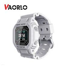 VAORLO reloj inteligente con Bluetooth para hombre y mujer, Smartwatch con Monitor de ritmo cardíaco, seguidor de actividad/deporte, llamadas, mensajes y recordatorios