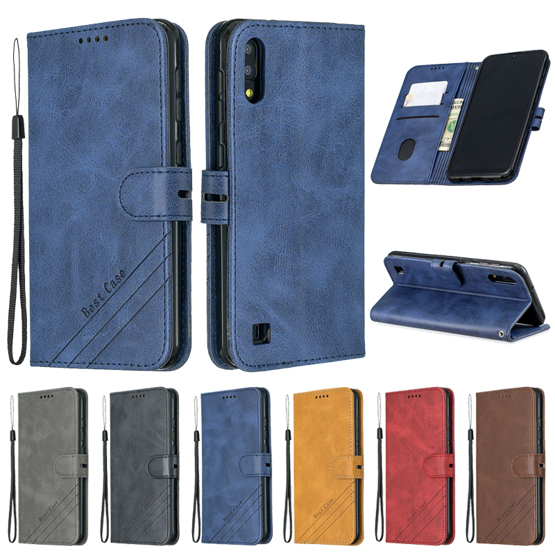 For <font><b>Samsung</b></font> Galaxy <font><b>A10</b></font> Case Leather Flip Case For Coque <font><b>Samsung</b></font> <font><b>A10</b></font> Phone Case Galaxy <font><b>A10</b></font> A 10 A105F A10S <font><b>Fundas</b></font> Magnetic Cover image