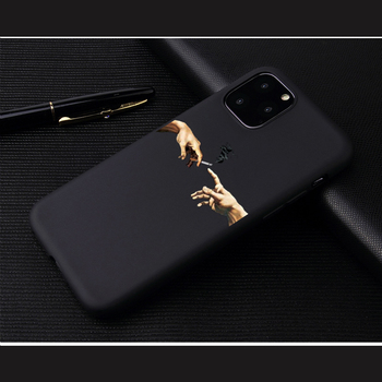 3D Relief Phone Case For iPhone 6 6s 7 8 Plus X 5 5s SE 11Pro Cover Cartoon Love Heart Soft TPU Capa For iPhone 8 XR XS Max 1