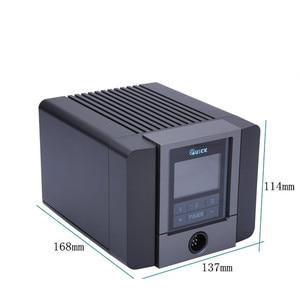 Image 2 - מהיר TS1200A אינטליגנטי אוויר חם עיבוד חוזר תחנת עבור טלפון PCB הלחמה תיקון