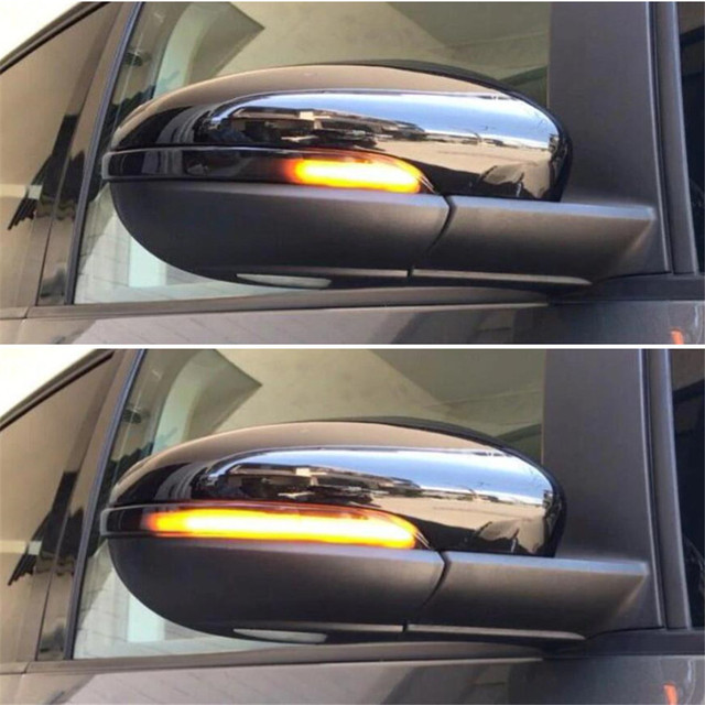 2pc LED Sequential Mirror Lights For Volkswagen mk6 Volkswagen Golf 2