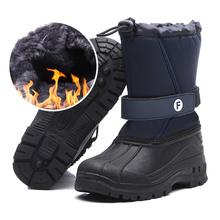 kids shoes Winter boots for boys girls snow teenagers Warm Hiking Shoes Boys Outdoor Sports Non-Slip