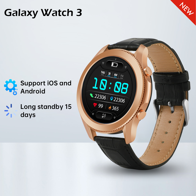 Galaxy W3 Smartwatch Fitness Tracker Bracelet Bluetooth Call Men's Smart Watch Waterproof IP68 Women's Watches for Huawei Xiaomi 3