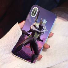 Para HTC One X9 M7 M8 A9 M9 M10 E9 Mais Desejo 630 530 626 628 816 820 830 TPU Silicone Macio Phone Cases Bolsas Overwatch Celular(China)
