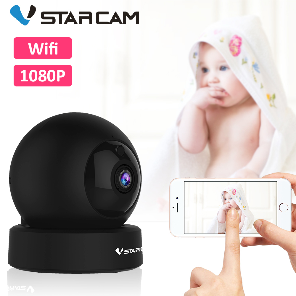 Vstarcam 2MP 1080P Wifi Video Baby Monitor Two Way Audio Baby Camera IR Night Vision Baby Motion Detection Alarm To Smart Phone
