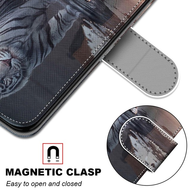 For Huawei Honor 7s 8s Case Leather Wallet Flip Cover for Huawei 20 30 Pro Case Luxury Mobile Phone Case For Huawei Nova 5 Pro