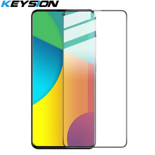KEYSION Tempered Glass for Samsung S20 Ultra S10 + Plus S9 S8 Screen Pr