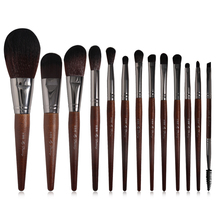 8 Colors 13Pcs Makeup Brushes Set Powder Foundation Brush Eyeshadow Brush Black Brown Blue Gold Wood Pink Beige Cosmetic