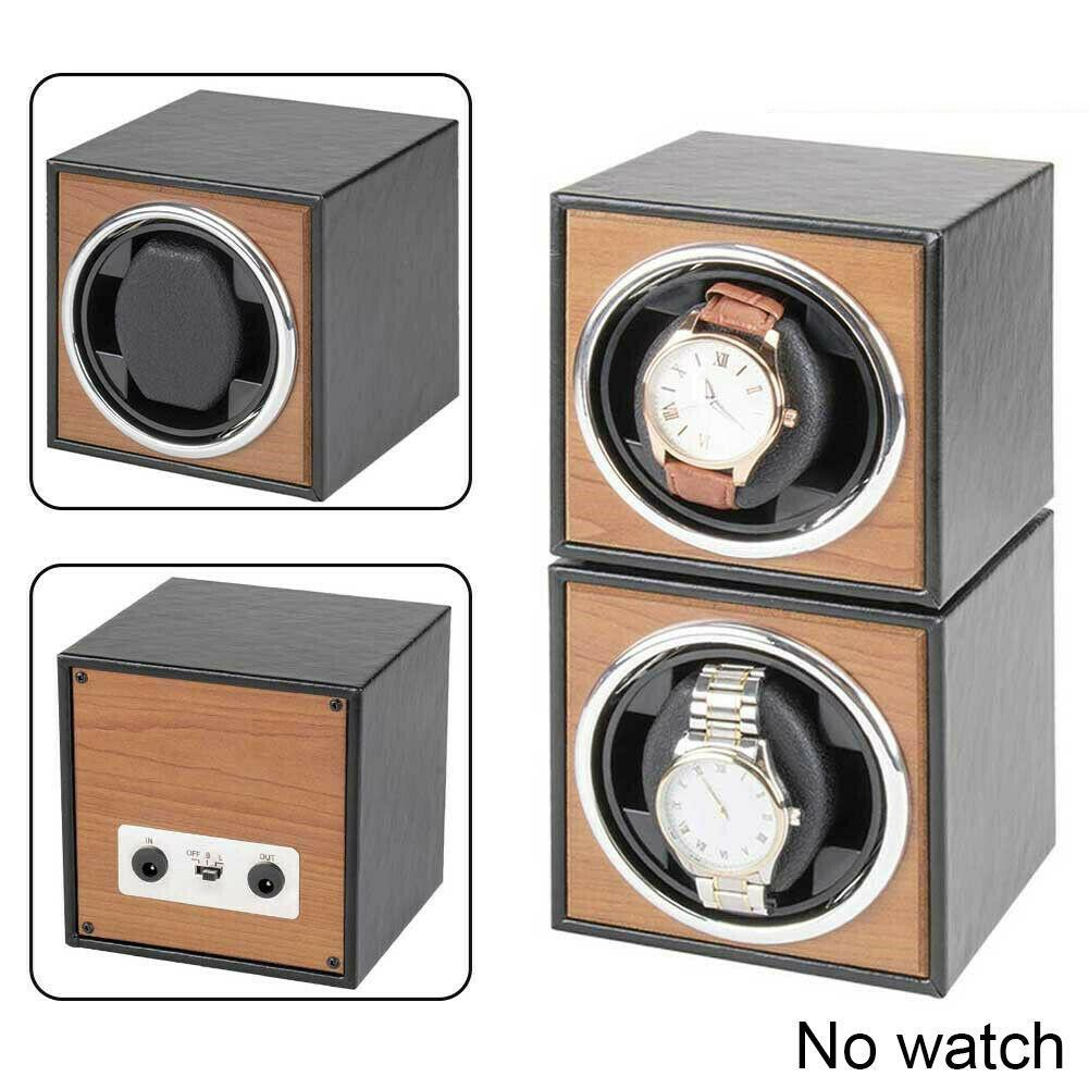 Watch Winder For Automatic Watches New Version 4+6 Storage Accessories Watches Wooden Watch Collector Box H2E5
