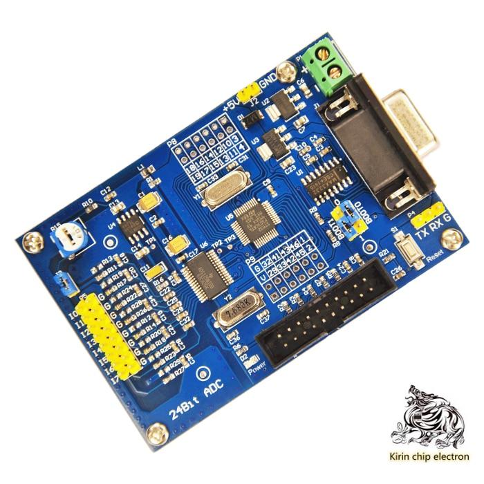 1PCS/LOT ADS1256 24-bit AD High-precision Acquisition Module 24-bit ADC STM32F103C8T6 AD Module