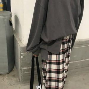 Image 5 - Pajama Sets Printed Thin Daily Outwear Chic Trendy Long Sleeve Womens Korean Style Ulzzang Couples Kawaii Homewear Loose Elegant