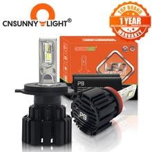 CNSUNNYLIGHT Super Bright LED Del Faro Dellautomobile H7 H11/H8 9005/HB3 9006/HB4 9012 D1/D2/D3/D4 H4 H13 45W 6800Lm/Lampadina 6000K Bianco Puro