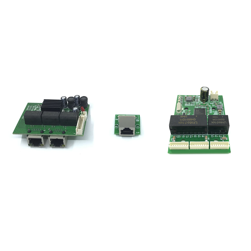 Mini PBCswitch Module PBC OEM Module Mini Size3Ports Network Switches Pcb Board Mini Ethernet Switch Module 10/100/1000Mbps