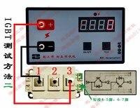 Testador de pressão capacitor eletrolítico de alta precisão dois triode igbt e outro instrumento de medição de pressão
