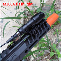 Element Tactical SF M300 Mini Scout Light 250 lumenów latarka z przełącznik zdalny ogon i 20MM szyna tkacka EX191 w Oświetlenie na broń od Sport i rozrywka na