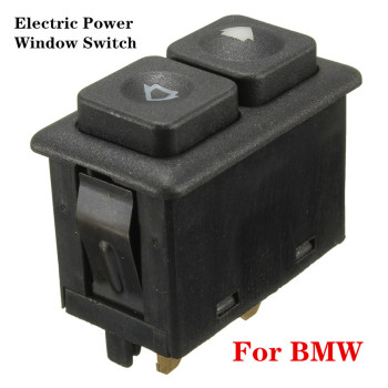 1pcs 5 Pins Electric Power Window Switch Button Black For BMW E23 E24 E28 E30 L6 M5 61311381205 Car Accessories image