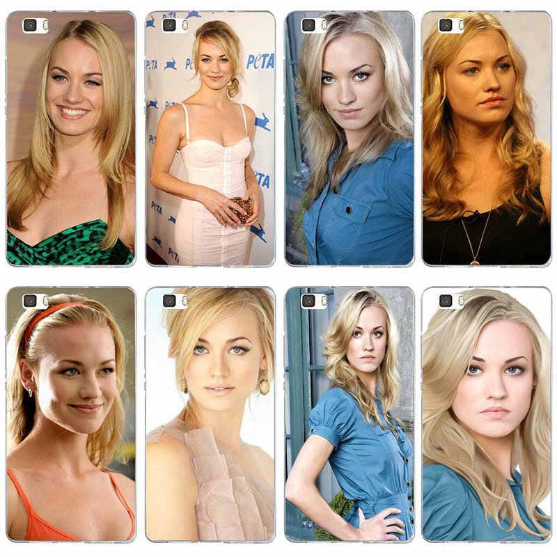 Miłość Yvonne Strahovski miękkie akcesoria do telefonu komórkowego dla Huawei P8 P9 P10 P20 Lite inteligentny Mate 10 Pro Y3 Y5 Y6 II Y7 Honor 6X