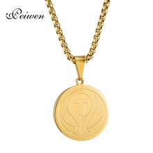 цена на Basketball Cross Pendant Necklace Stainless Steel Charm Chain Silver Gold Necklaces For Men Women Sporting Jewelry Neck Choker