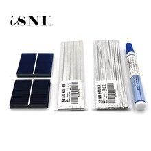 DIY תאים סולריים Polycrystalline הסיליקון פנל סולארי Sunpower Painel תאים DIY מטען סולארי Bord 52 39 78 26mm 7W 12W 16W 18W 21W