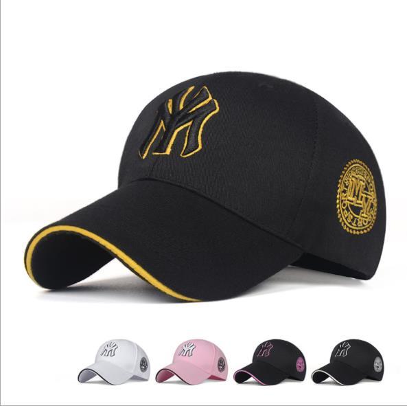 NEW MY Three-dimensional Embroidery Dad Hat Men Women Summer Baseball Cap Visor Caps Adjustable Ny Bone Hats Gorras Casquette