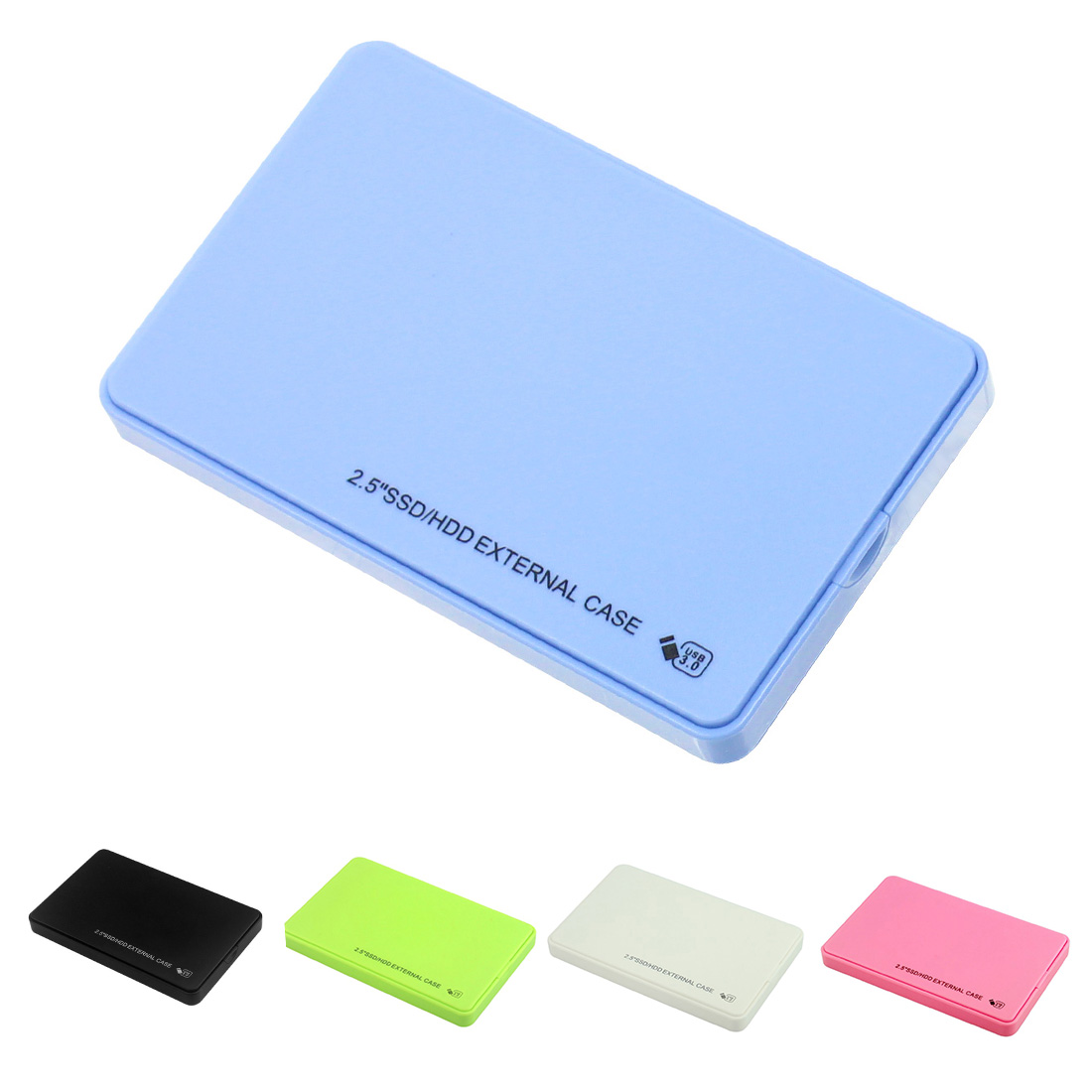 Case Backup-Tool Hard-Drive Sata-Hdd-Enclosure External-Adapter Laptop Mobile SSD 5gbps title=