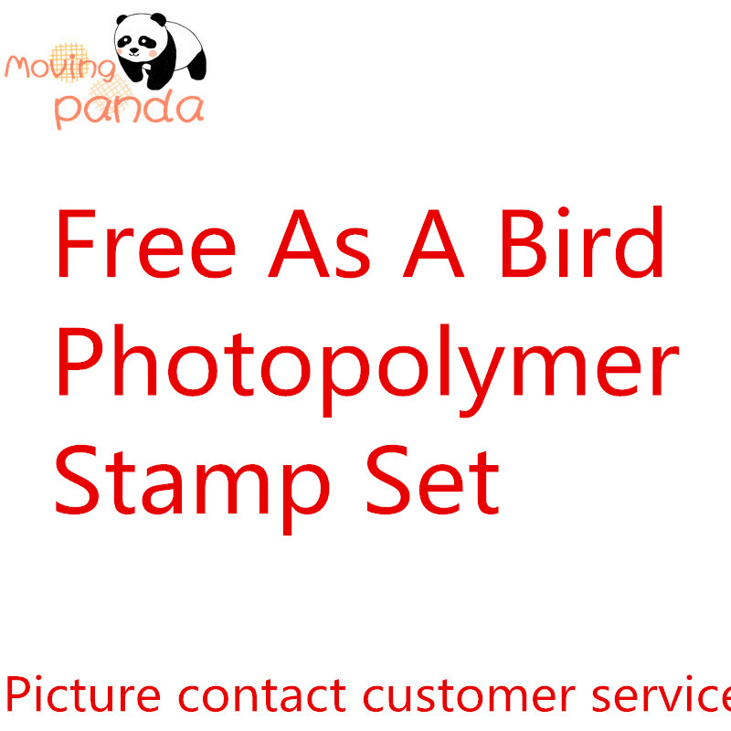 JC193 Free As A Bird Metal Cutting Dies And Stamps Dies For Craft Dies Scrapbooking Album Embossing New Dies For 2019 Arrival