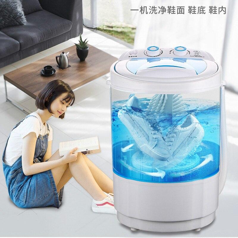 220V Portable Washing Machine Shoe Washer Brush Shoes Washing Shoes God Shoe Washing Machine Top Loading 1