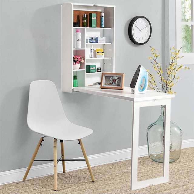 Folding Wall-Mounted Laptop Desk  2