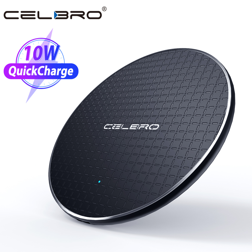 Led Qi Wireless Charger Phone Charging Pad Stand for Samsung Galaxy S20 Ultra S20 Plus Doogee S95 S90 Pro S80 S70 S68 Pro BL9000(China)
