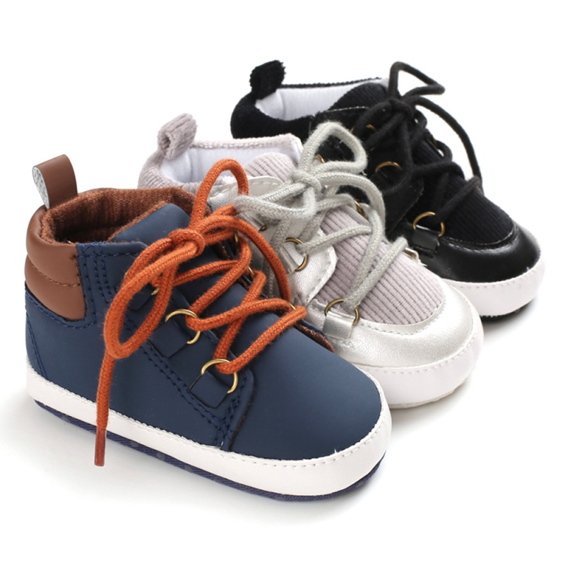 2019 New Baby Boy Shoes Casual Soft Bottom Anti-skid Soft Shoes Newborn Autunm Winter Sneakers Moccasins Shoes For Infants