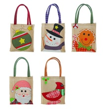 Fun Candy Bags Christmas Kids Gifts Exquisite New Year Santa Claus Party Home Decor